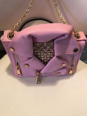 Pink leather jacket purse 👛 for Sale in Los Angeles, CA