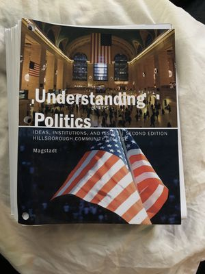 Understanding Politics 2nd edition (HCC) for Sale in Tampa, FL