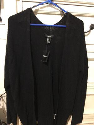 Black cardigan size L for Sale in El Mirage, AZ