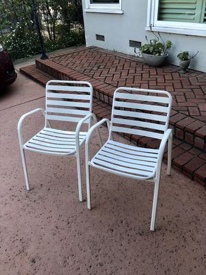 CB2 outdoor chairs for Sale in Santa Monica, CA