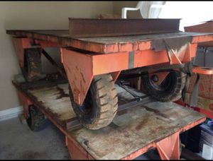 4'x8' all wheel steering trailer 8,000lbs capacity for Sale in Lawrenceville, GA