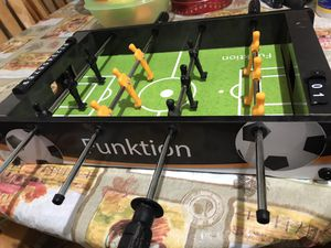 Soccer foosball /without ball & missing 1 side score for Sale in Fresno, CA