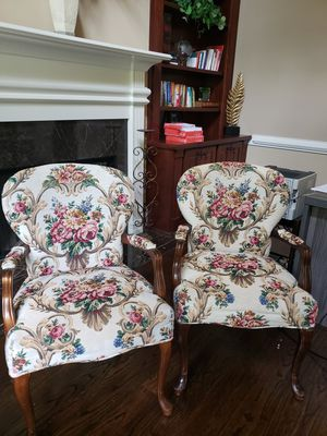 Estate Sale - 2 Antique Chairs $80 for Both for Sale in Acworth, GA
