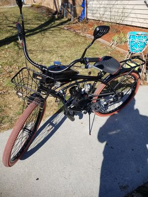Motorized bicycle. Like new. Fast for Sale in Hedgesville, WV