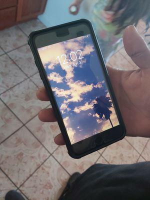 iPhone 8+ sprint 64g black for Sale in Modesto, CA
