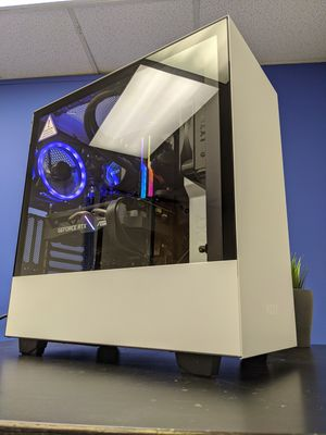 NEW Liquid Cooled 9th-gen Intel i7 Nvidia RTX 2070 Streaming Gaming PC for Sale in Brooklyn Center, MN