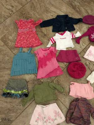 American girl doll clothes/no dolls just clothes/ lot for Sale in Sarasota, FL