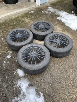 Subaru wheels with tires. WRX wheels and tires for Sale in Gresham, OR