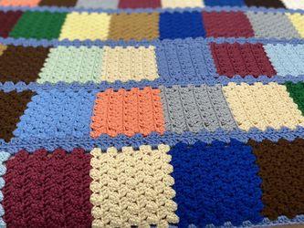 Pretty Crochet Throw 67 By 44 for Sale in Lehigh Acres,  FL
