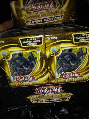 Yu-Gi-Oh the new challengers super edition for Sale in New York, NY