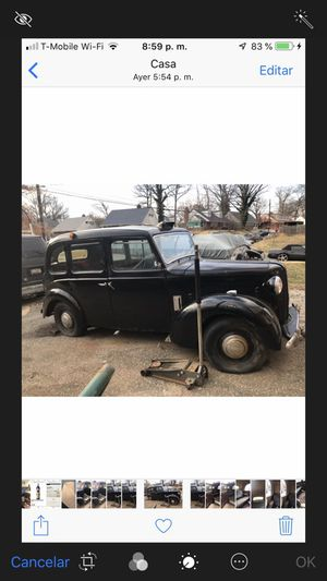 FOR SALE ENGLISH CAR AUSTIN TAXI FX3 1958 for Sale in Silver Spring, MD