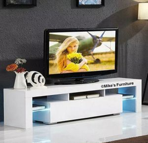 Brand new TV stand entertainment center wall unit with L.E.D lights for Sale in Sunrise, FL