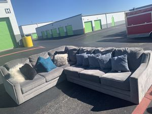L Sectional couch,Sofa set for Sale in Euless, TX