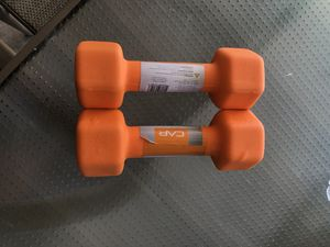Cap dumbbells 8 pounds for Sale in Norwalk, CA
