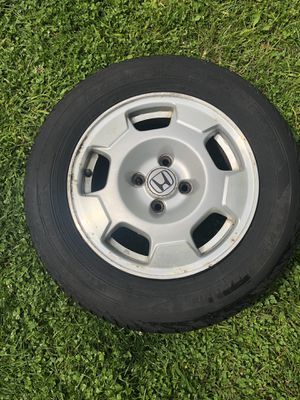 'Set of 4 tires '- 185/70R/14 and the spare doughnut for Sale in Lancaster, OH
