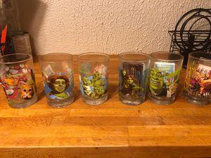Shrek Drinking Glasses for Sale in Detroit, MI