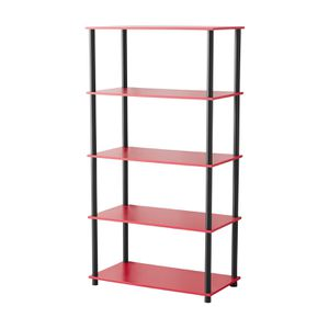 8 Cube Storage Unit Black, Red Shelving Unit Multiple Colors for Sale in Gallipolis, OH