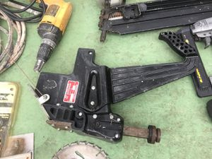 Nail flooring gun for Sale in Durham, NC