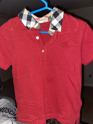 Burberry collar shirt for Sale in Houston, TX