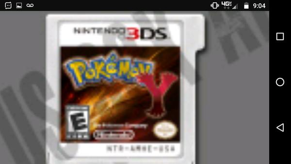 Pokemon Y 3ds Nintendo Pokemon games