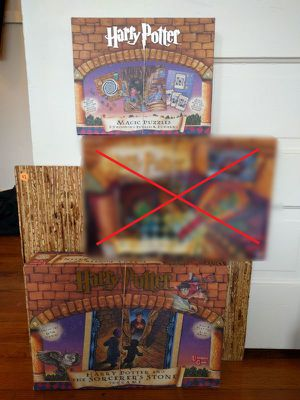 Harry Potter 2 Original Sorcerer's Stone Games 2000 for Sale in Seattle, WA