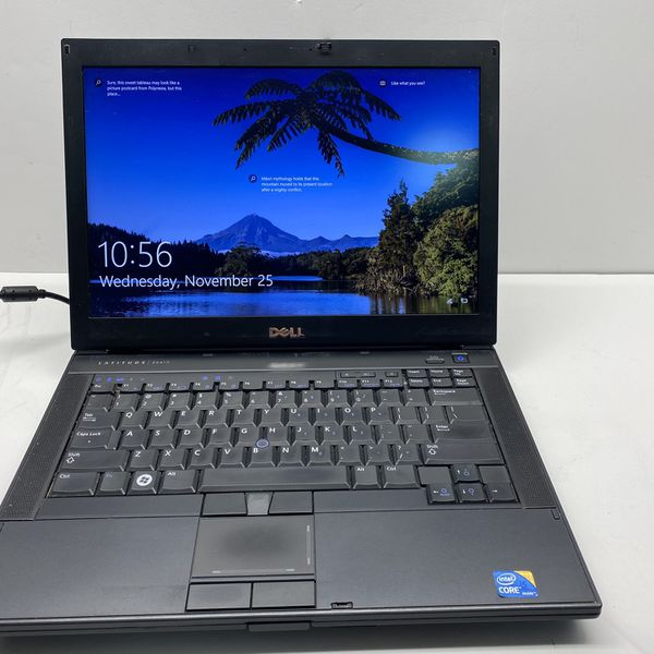Dell Latitude E6410, Intel Core i5, 2.53 GHz, 4 GB RAM, 320 GB Hard Drive, Wireless Wifi, NO WEBCAM, DVDRW, SD Card Reader, Display Port, eSATA Port,