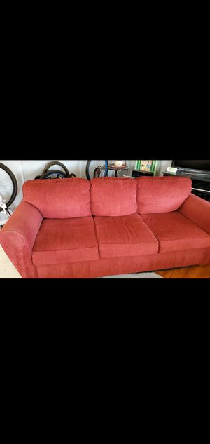 Red sofa for Sale in Victorville, CA
