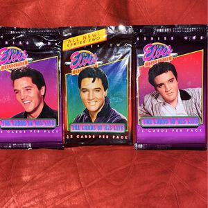 Elvis Collector Cards (3 -packs) for Sale in Baltimore, MD