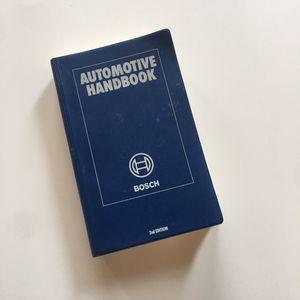 Bosch automotive handbook for Sale in Portland, OR