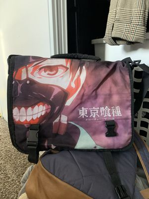Tokyo Ghoul Extra Large Messenger/Laptop Bag for Sale in Apple Valley, CA