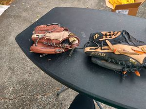 Two boys baseball gloves for Sale in Bothell, WA