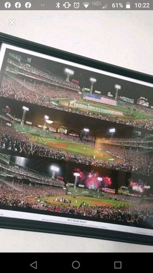 2015 Red Sox World series poster for Sale in Webster, NY