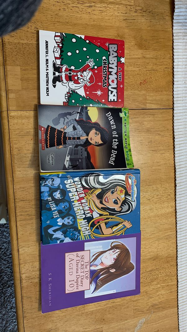 My daughter is selling these books they are all in good condition she has just read them a few times already
