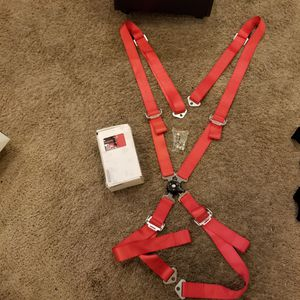 2 racing seat harness for Sale in Henderson, NV