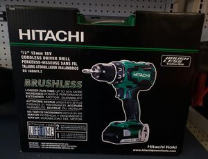 Hitachi Cordless Driver Drill for Sale in Chicago, IL
