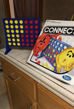Connect four board game for Sale in San Diego, CA