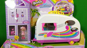 Shopkins HAPPY PLACES Rainbow Beach Happy Campervan for Sale in St. Petersburg, FL