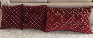 Home decor pillows price is for ALL for Sale in Ashburn, VA
