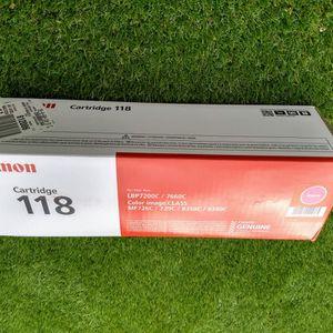 Genuine Canon Ink Toner Printer Cartridge 118 Magenta (2660B001) BNIB for Sale in Las Vegas, NV