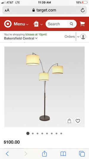 New Avenal Shaded Arc Floor Lamp for Sale in Bakersfield, CA
