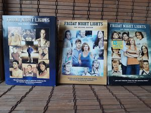 """Complete Season 1 , 2 , 3 """"Friday Night Lights"""" for Sale in Houston, TX"""