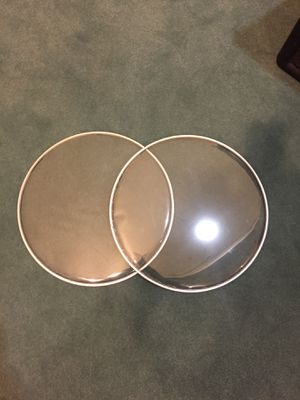 """2) 14"""" Clear snare drum heads new for Sale in Highland, IL"""