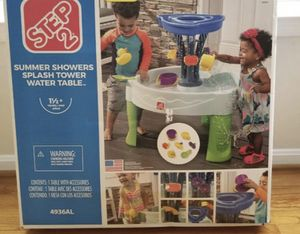 Summer Showers Splash Tower Water Table for Sale in Hialeah, FL