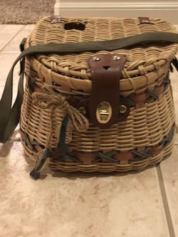 Fishing Tackle Basket (decorative) for Sale in Sunnyside,  WA