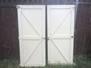 Shed doors for Sale in Dallas, TX