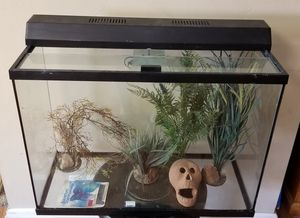 40 gallon aquarium / fish tank with all accessories for Sale in Lakeside, CA