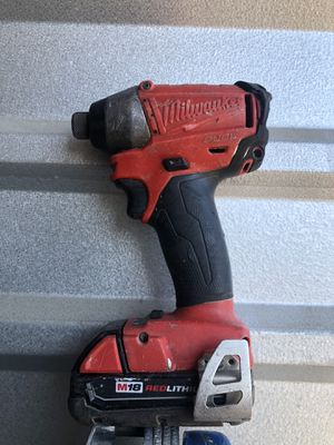 Milwaukee impact drill. for Sale in Houston, TX