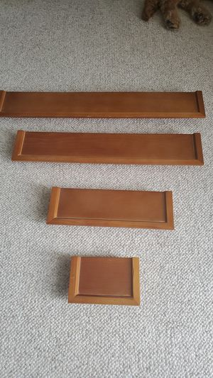 Small wall shelves for Sale in Romeoville, IL