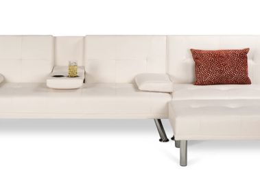 3 Piece Modular Modern Furniture Set with Double and Single Futons Including Footstool for Sale in Columbus,  OH