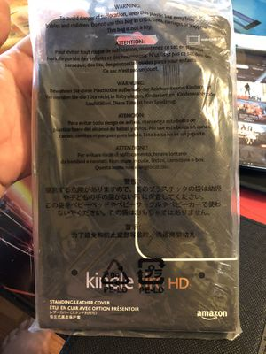 Kindle fire HD case. 2 kind for Sale in Fort Meade, FL